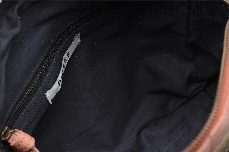 Sacs à main Pieces Jace Leather Crossover bag Rose vue derrière