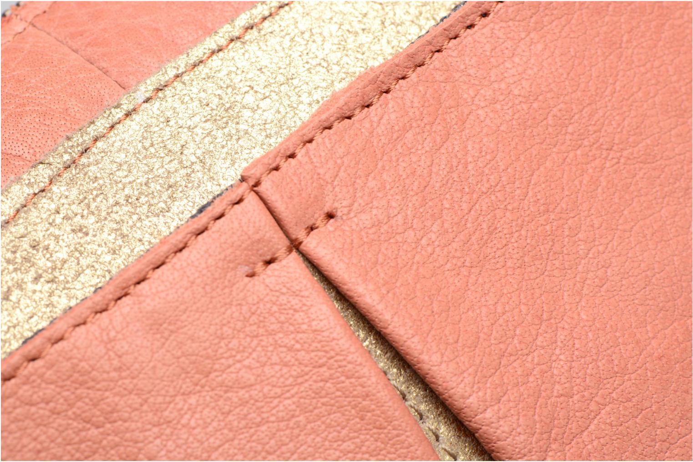 Sacs à main Pieces Jace Leather Crossover bag Rose vue gauche