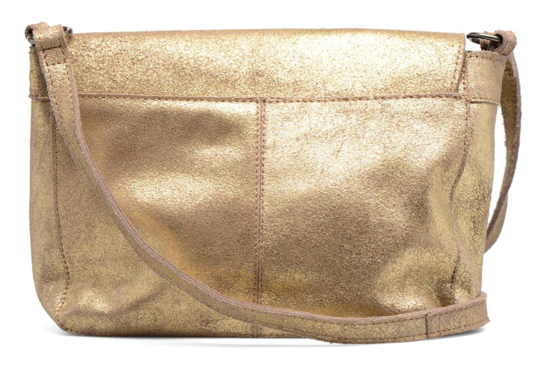 Borse Pieces Musta Leather Crossover bag Oro e bronzo immagine frontale