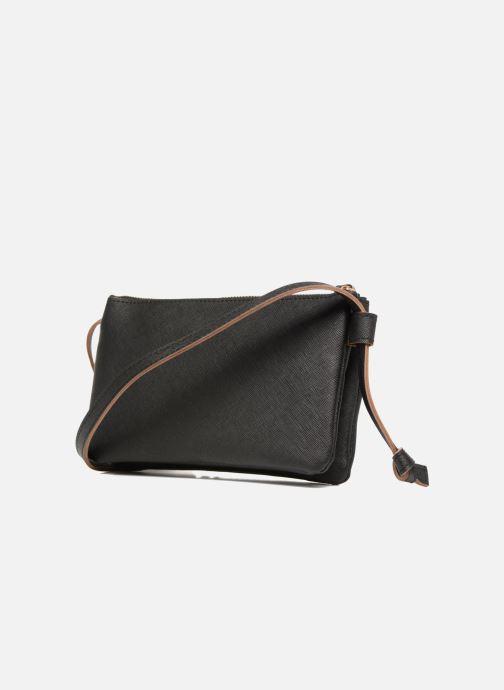 Handtaschen Pieces Lellis Crossbody schwarz ansicht von rechts