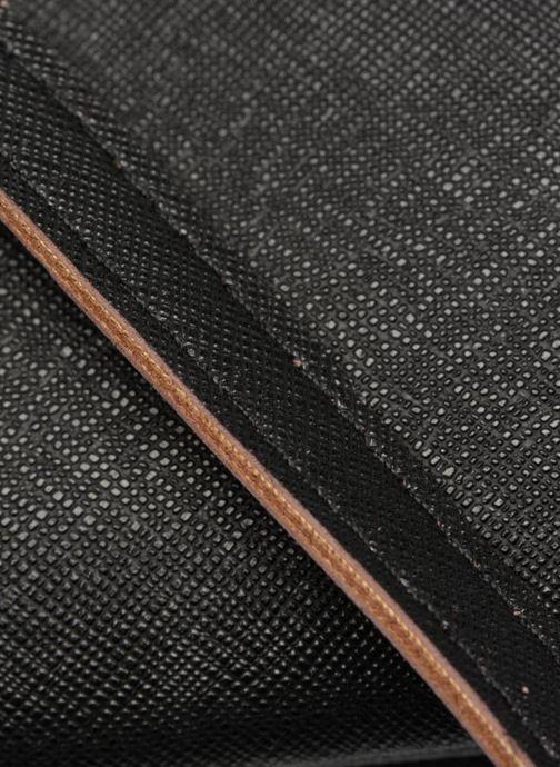 Handtaschen Pieces Lellis Crossbody schwarz ansicht von links