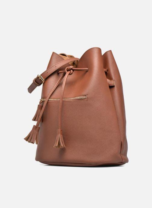 Handtassen Pieces Lellis Tighten bag Bruin model