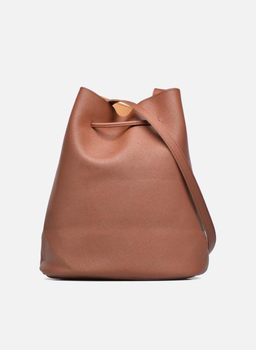 Handtassen Pieces Lellis Tighten bag Bruin voorkant