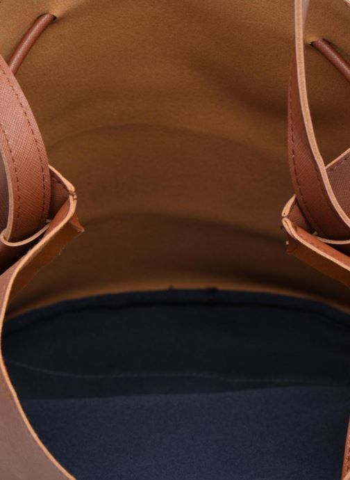 Handtassen Pieces Lellis Tighten bag Bruin achterkant