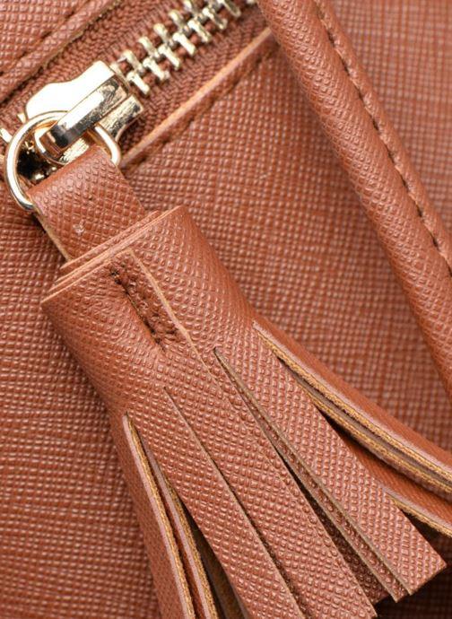 Sacs à main Pieces Lellis Tighten bag Marron vue gauche