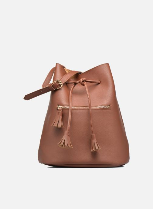 Handtassen Pieces Lellis Tighten bag Bruin detail