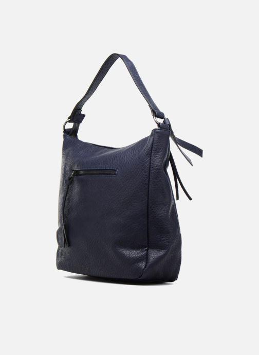 Bolsos de mano Pieces Laney Bag Azul vista lateral derecha