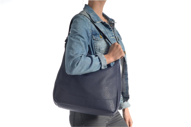 Bolsos de mano Pieces Laney Bag Azul vista de arriba