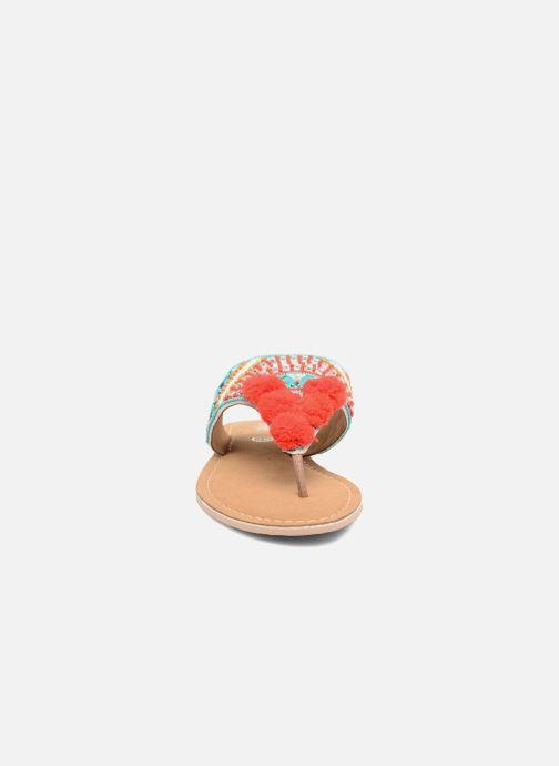 Sandales et nu-pieds Buffalo Josy Multicolore vue portées chaussures