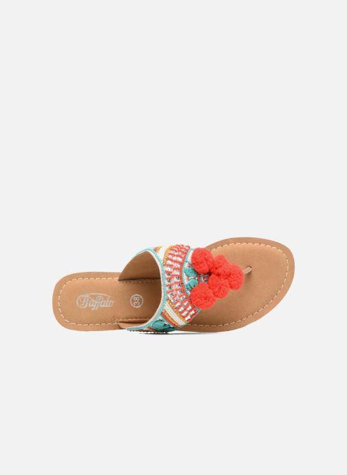 Sandales et nu-pieds Buffalo Josy Multicolore vue gauche