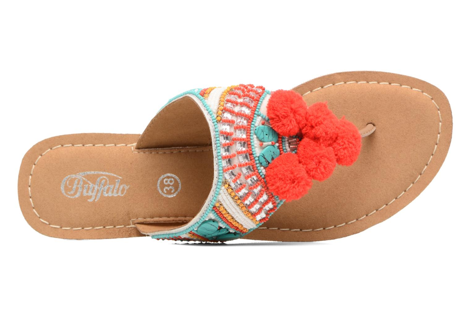 Sandals Buffalo Josy Multicolor view from the left