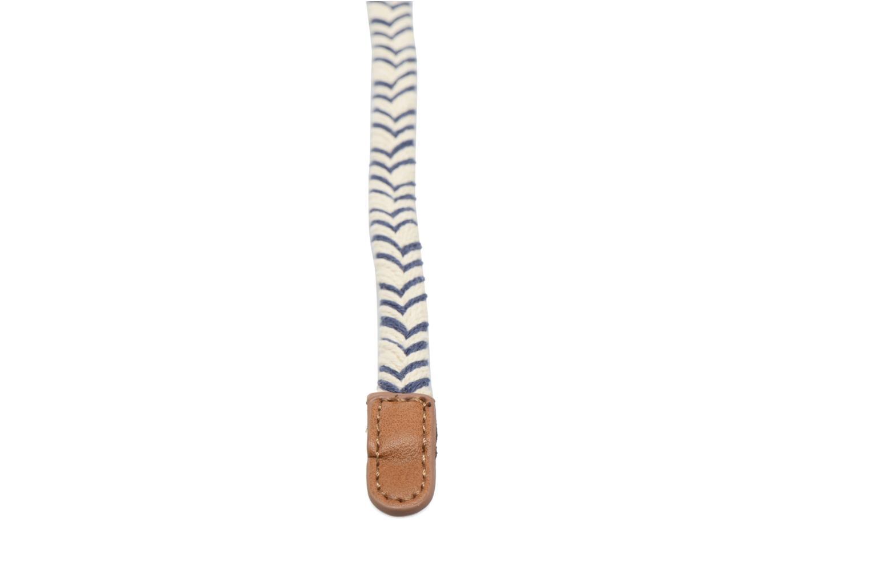 Riemen Pieces Luske Waist Belt Blauw voorkant