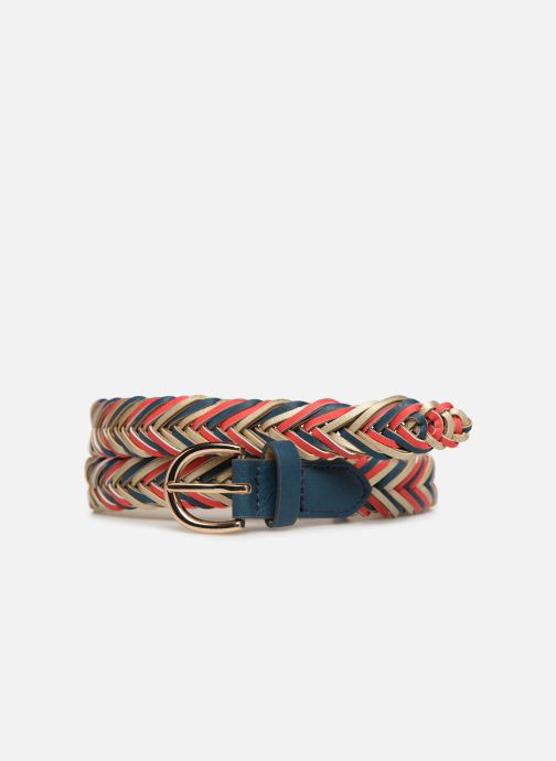 Cinturones Pieces Lion Braided Jeans Belt Azul vista de detalle / par