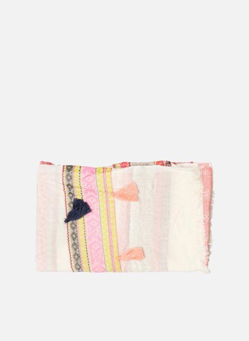 Echarpes et Foulards Pieces Lisa Long scarf Beige vue portées chaussures