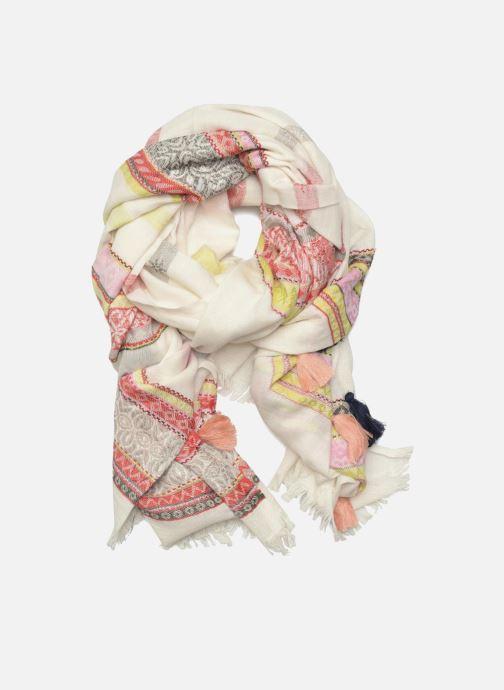 Echarpes et Foulards Pieces Lisa Long scarf Beige vue détail/paire