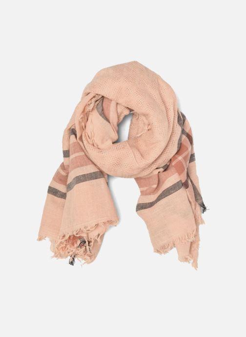 Echarpes et Foulards Pieces Larina Square scarf Beige vue détail/paire