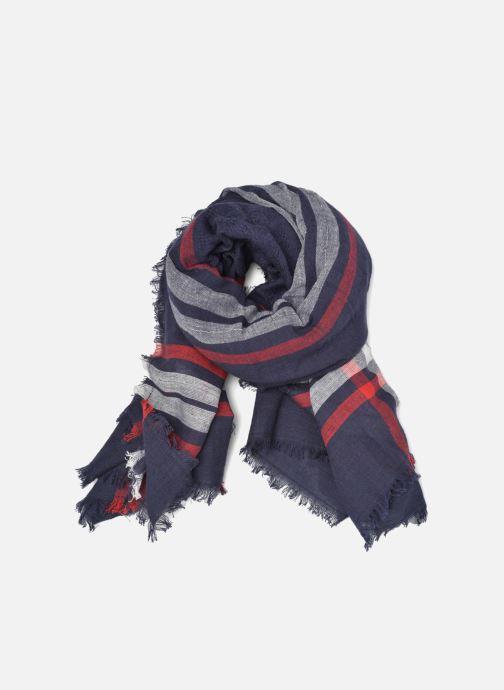 Echarpes et Foulards Pieces Larina Square scarf Bleu vue détail/paire