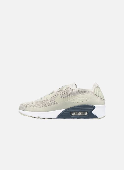 low priced 97825 515f9 Baskets Nike Air Max 90 Ultra 2.0 Flyknit Beige vue face