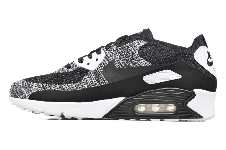 Sneaker Nike Air Max 90 Ultra 2.0 Flyknit schwarz ansicht von vorne