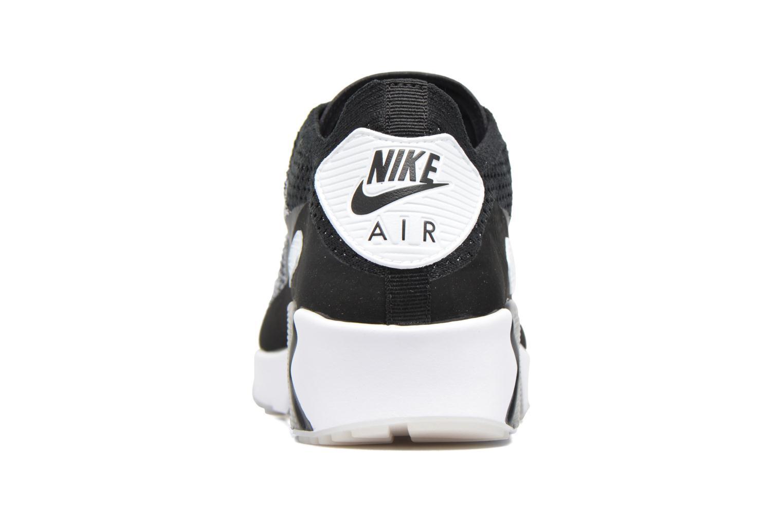 Deportivas Nike Air Max 90 Ultra 2.0 Flyknit Negro vista lateral derecha