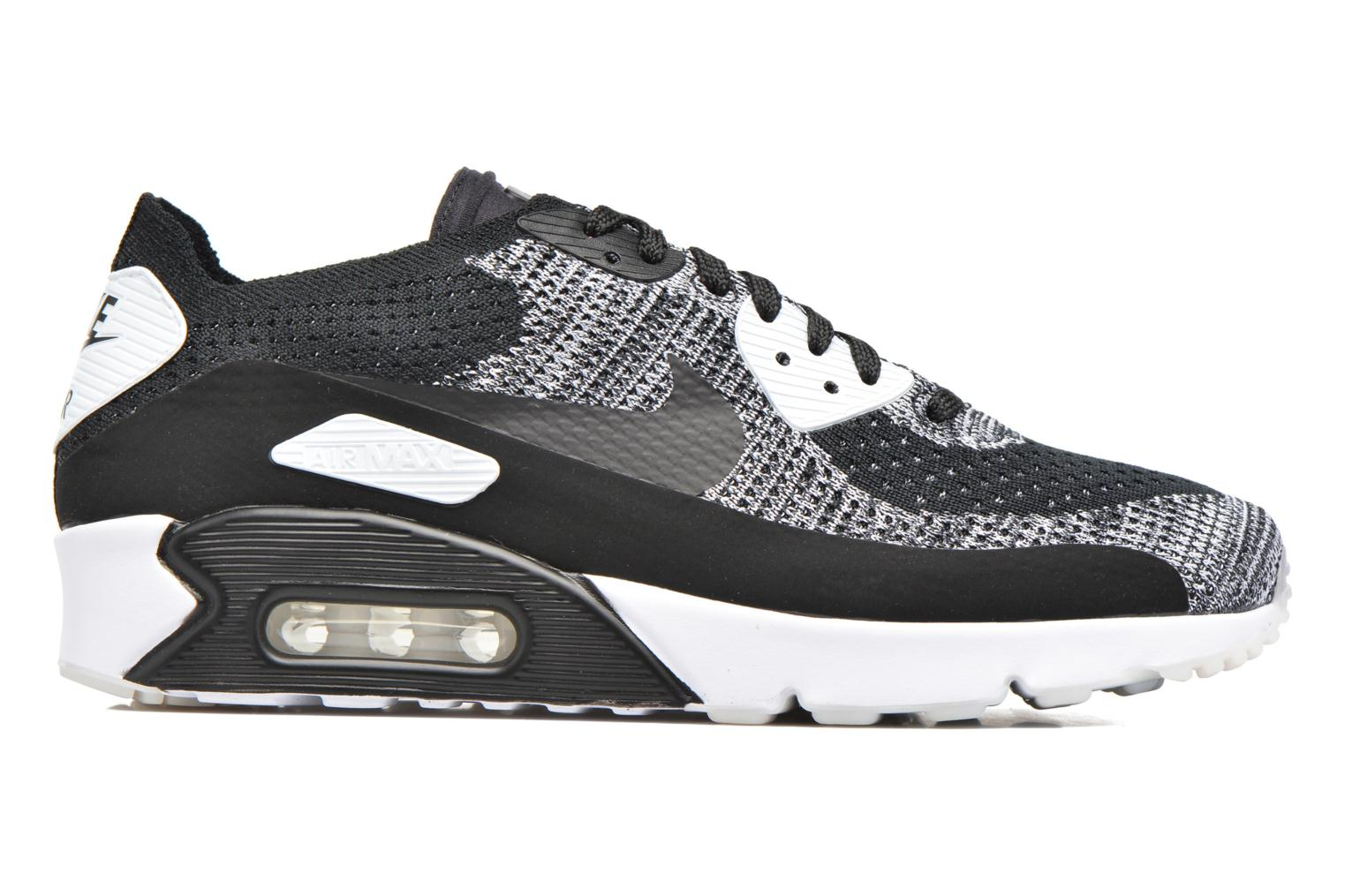 Sneakers Nike Air Max 90 Ultra 2.0 Flyknit Nero immagine posteriore
