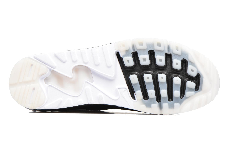 Sneaker Nike Air Max 90 Ultra 2.0 Flyknit schwarz ansicht von oben