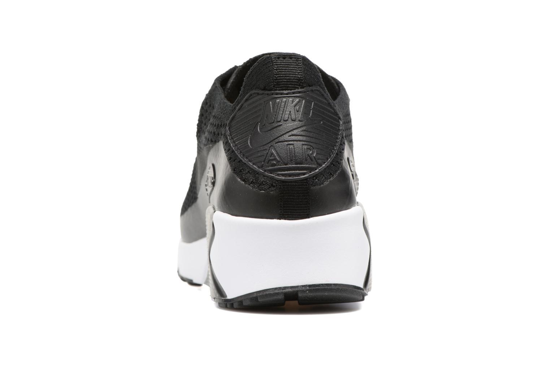 Sneaker Nike Air Max 90 Ultra 2.0 Flyknit schwarz ansicht von rechts