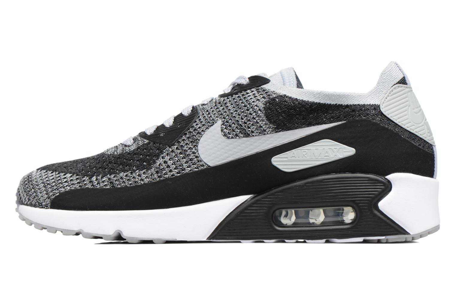 Baskets Nike Air Max 90 Ultra 2.0 Flyknit Noir vue face