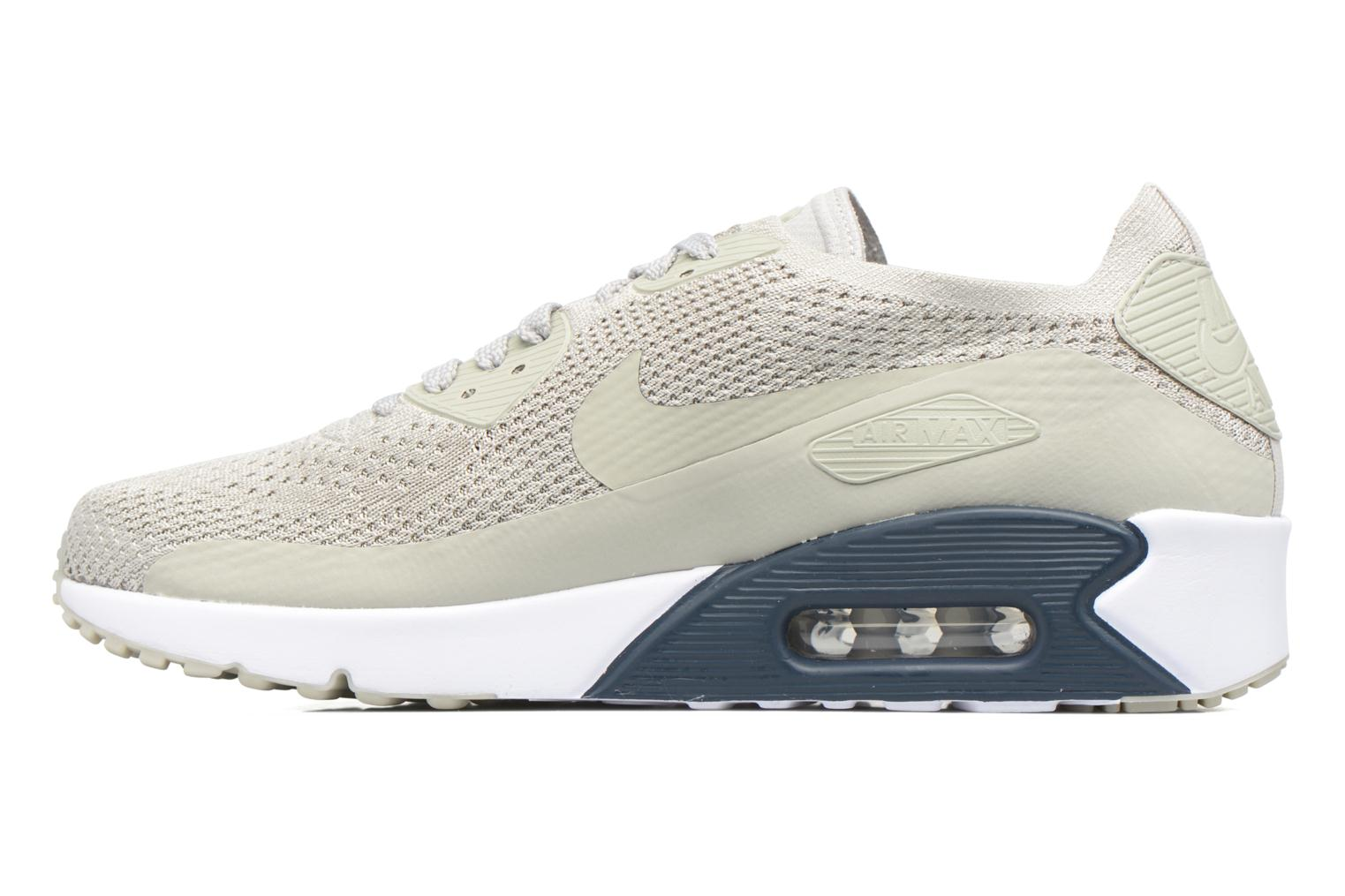 Baskets Nike Air Max 90 Ultra 2.0 Flyknit Beige vue face
