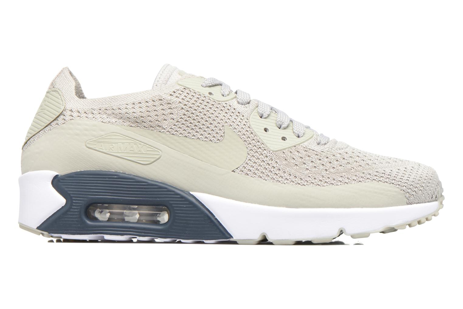 Trainers Nike Air Max 90 Ultra 2.0 Flyknit Beige back view