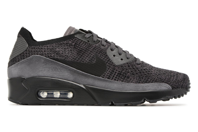 Sneaker Nike Air Max 90 Ultra 2.0 Flyknit grau ansicht von hinten