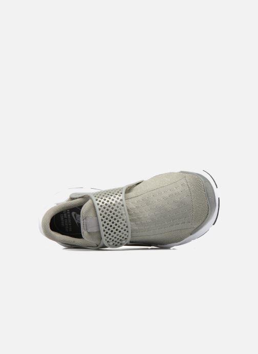 Baskets Nike Wmns Nike Sock Dart Vert vue gauche