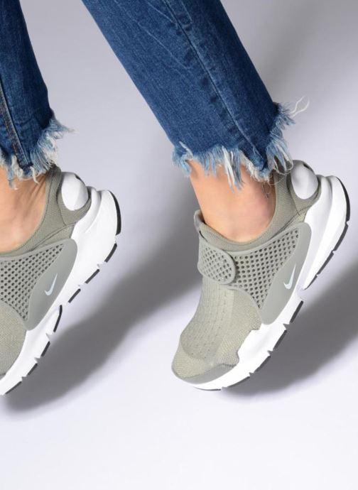 Sneakers Nike Wmns Nike Sock Dart Viola immagine dal basso