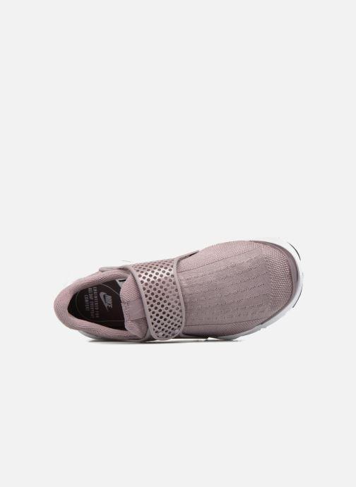 Sneakers Nike Wmns Nike Sock Dart Viola immagine sinistra