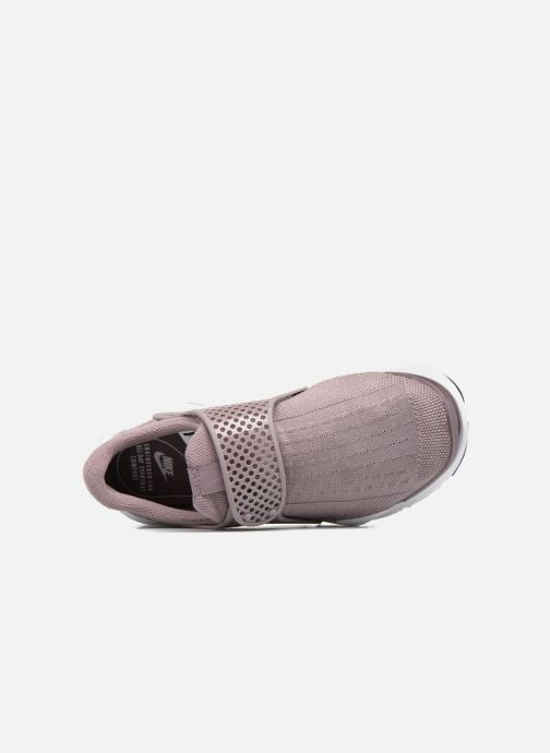 Baskets Nike Wmns Nike Sock Dart Violet vue gauche