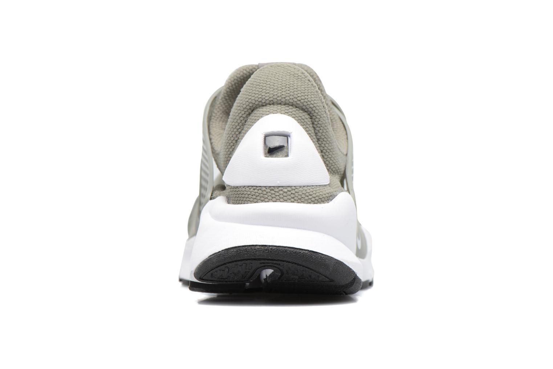 Sneakers Nike Wmns Nike Sock Dart Grøn Se fra højre
