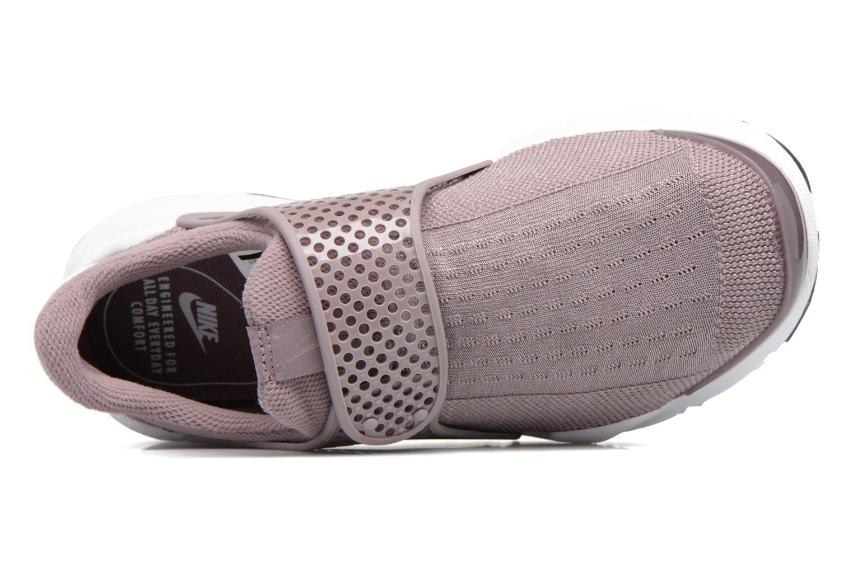 Sneakers Nike Wmns Nike Sock Dart Lilla se fra venstre