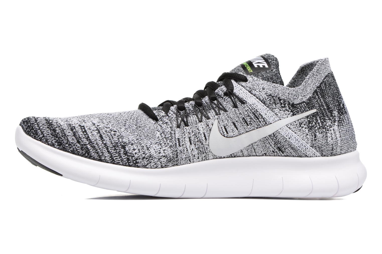 Chaussures de sport Nike Nike Free Rn Flyknit 2017 Noir vue face