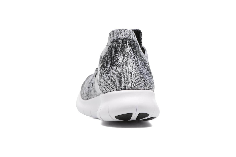 Chaussures de sport Nike Nike Free Rn Flyknit 2017 Noir vue droite