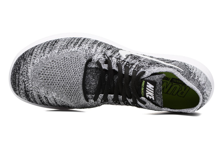 Chaussures de sport Nike Nike Free Rn Flyknit 2017 Noir vue gauche