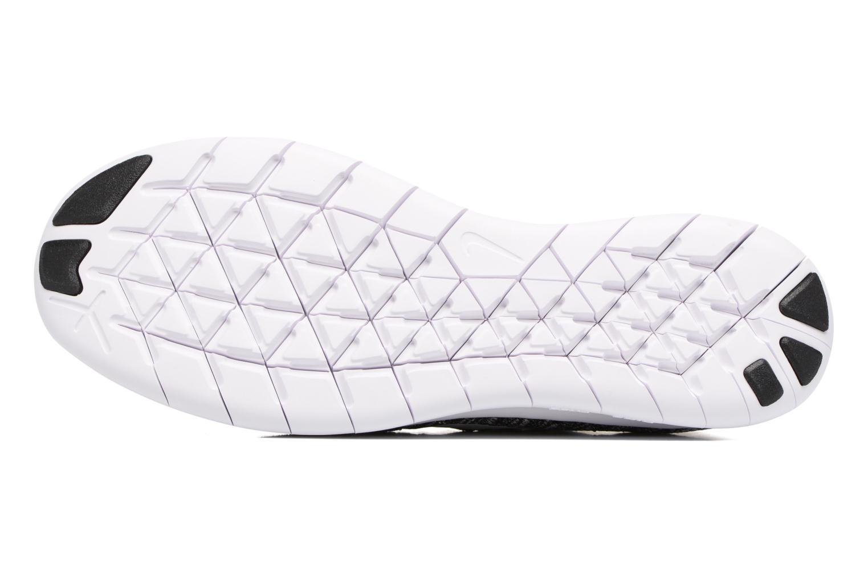 Chaussures de sport Nike Nike Free Rn Flyknit 2017 Noir vue haut