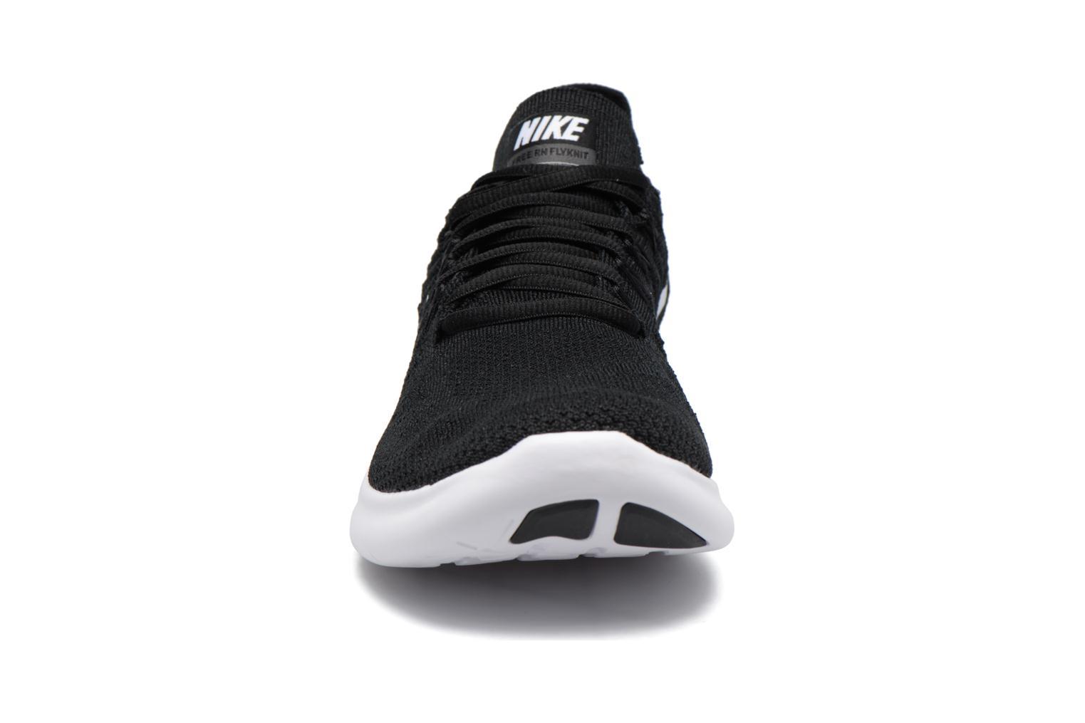 Scarpe sportive Nike Nike Free Rn Flyknit 2017 Nero modello indossato
