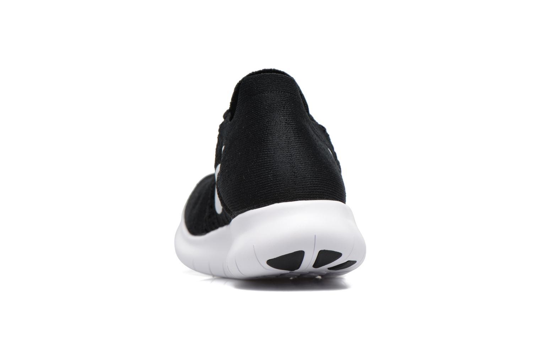 Scarpe sportive Nike Nike Free Rn Flyknit 2017 Nero immagine destra