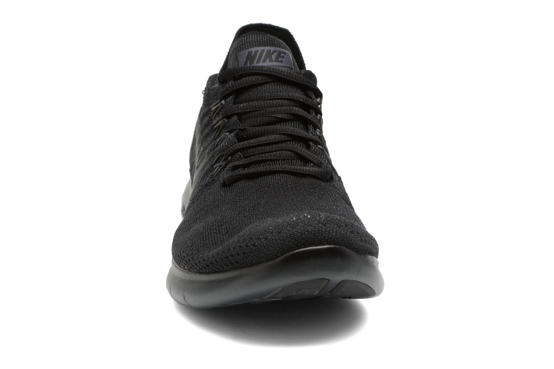 Zapatillas de deporte Nike Nike Free Rn Flyknit 2017 Negro vista del modelo