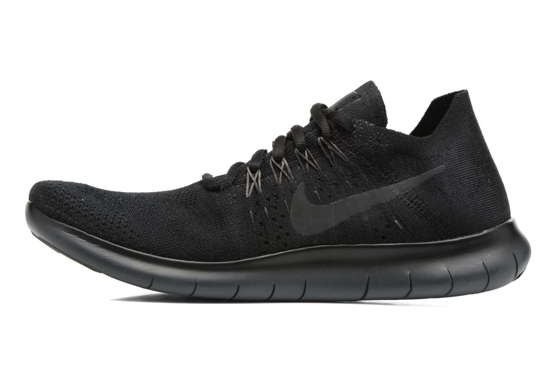 Zapatillas de deporte Nike Nike Free Rn Flyknit 2017 Negro vista de frente