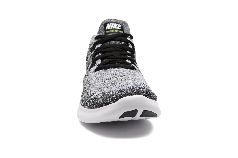 Zapatillas de deporte Nike Wmns Nike free Rn Flyknit 2017 Negro vista del modelo