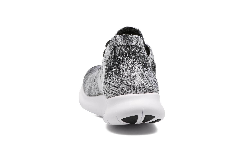 Zapatillas de deporte Nike Wmns Nike free Rn Flyknit 2017 Negro vista lateral derecha