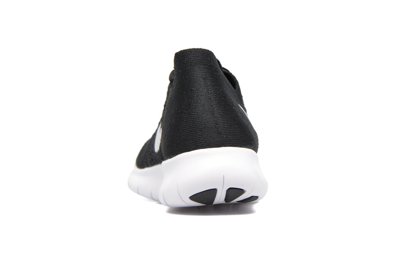 Sportschoenen Nike Wmns Nike free Rn Flyknit 2017 Zwart rechts