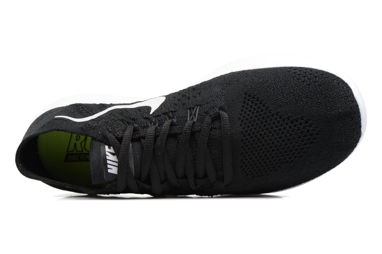 Scarpe sportive Nike Wmns Nike free Rn Flyknit 2017 Nero immagine sinistra