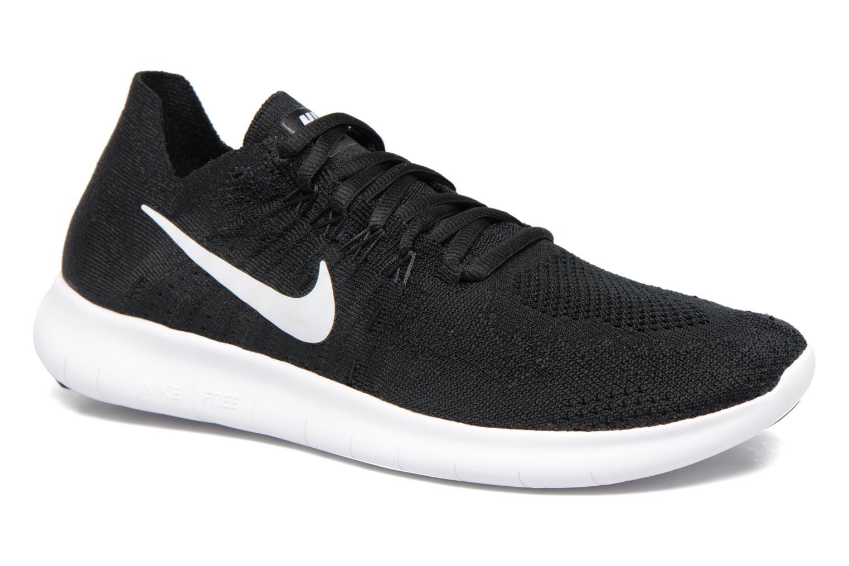 Sportschoenen Nike Wmns Nike free Rn Flyknit 2017 Zwart detail